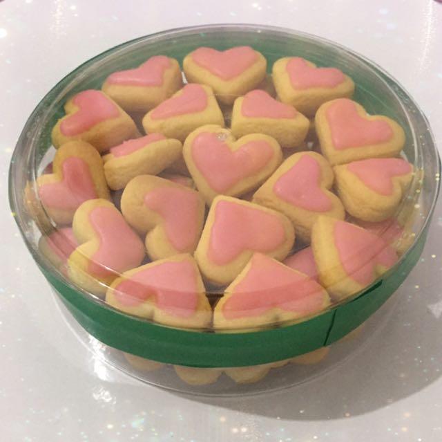 Pinky Love Cookies