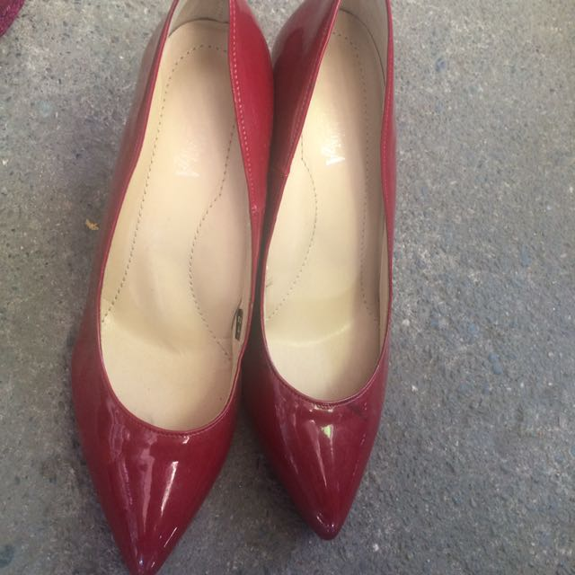 Red Classy Shoes