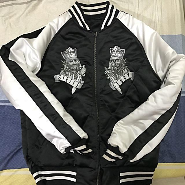 Remix 雙面刺繡外套
