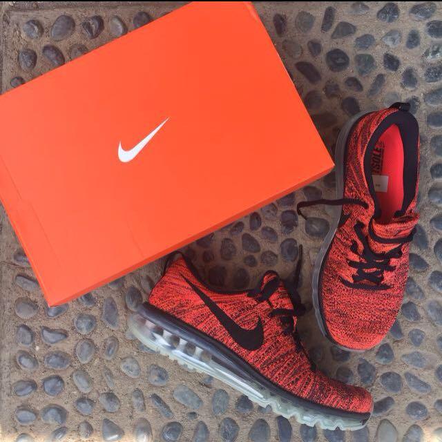 [SALE] Nike Flyknit Max Hyper Orange