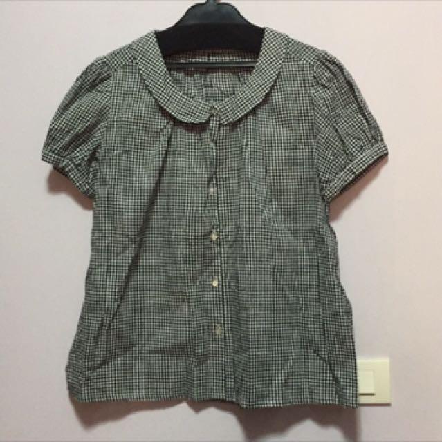 日系品牌Retro girl 公主袖襯衫