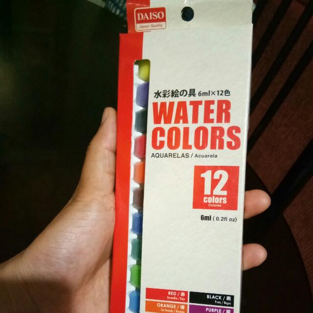 Sale! Daiso Water Colors