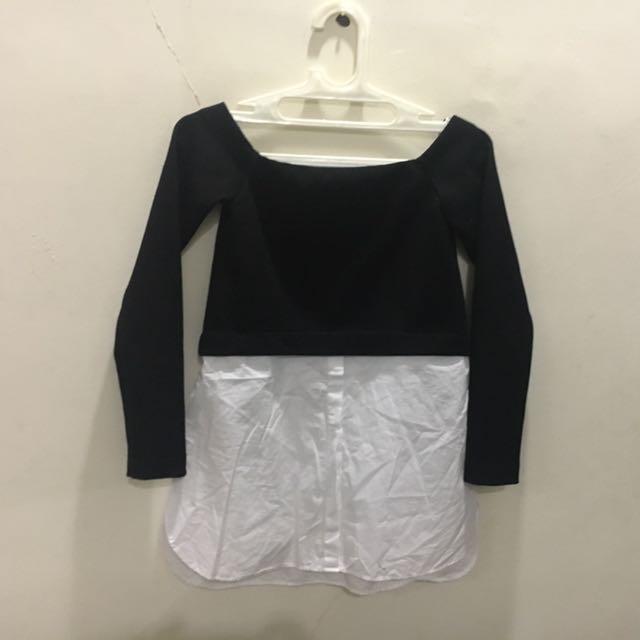 Semi Sweater X Shirt Zara TRF