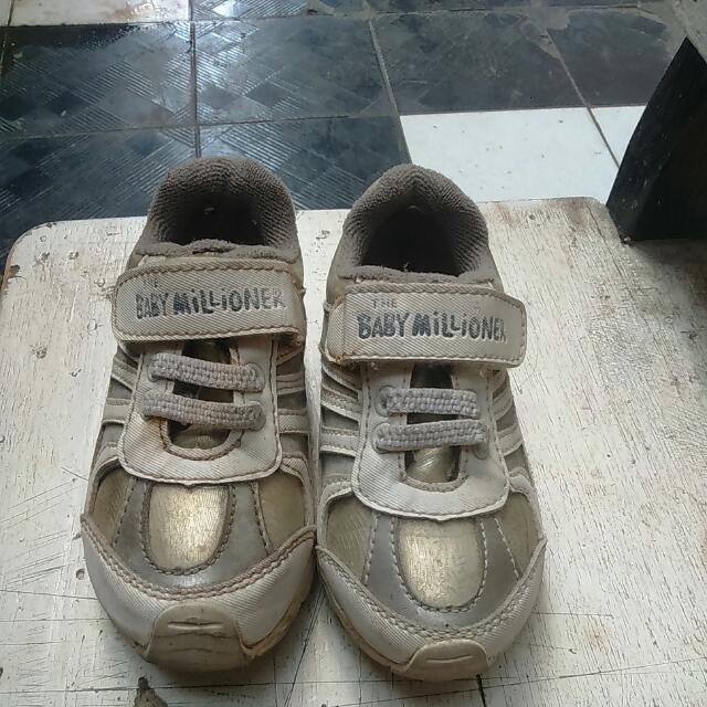 Sepatu Baby Milioner