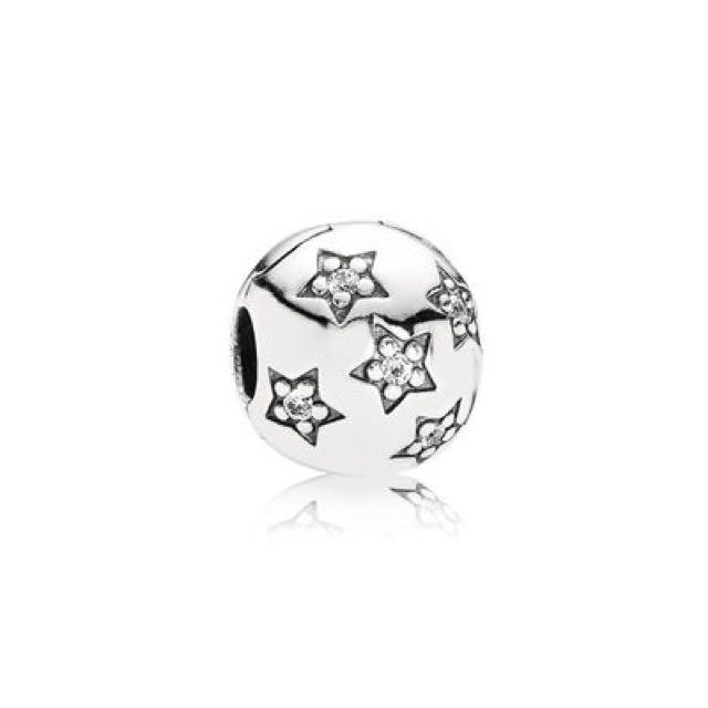 Silver Clip Charm - PANDORA
