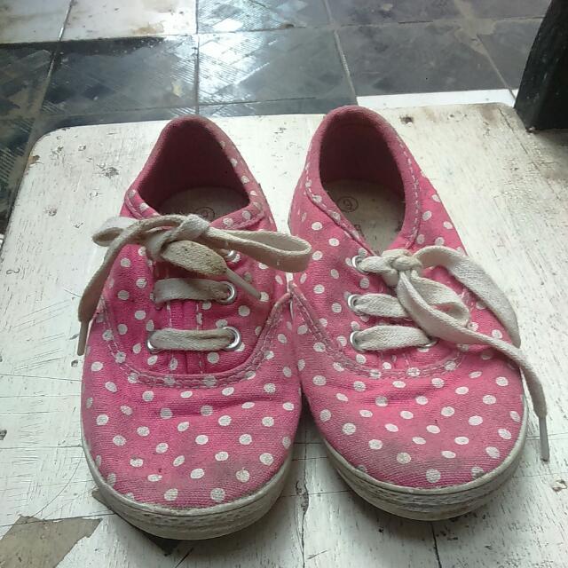 Sneakers Polkadot Pink