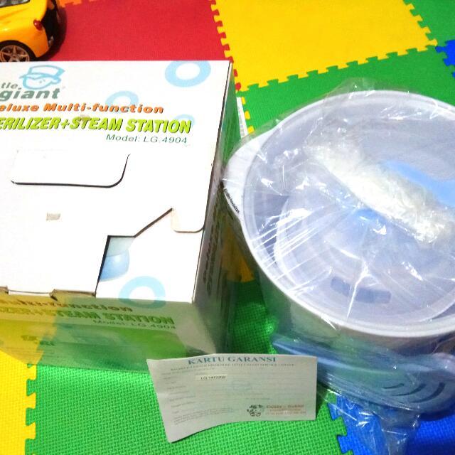 Sterilizer Dan Steam Merk Giant(Steril Botol Dan Menghangatkan Makanan Bayi)
