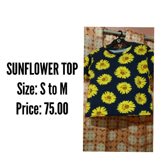 SUNFLOWER TOP