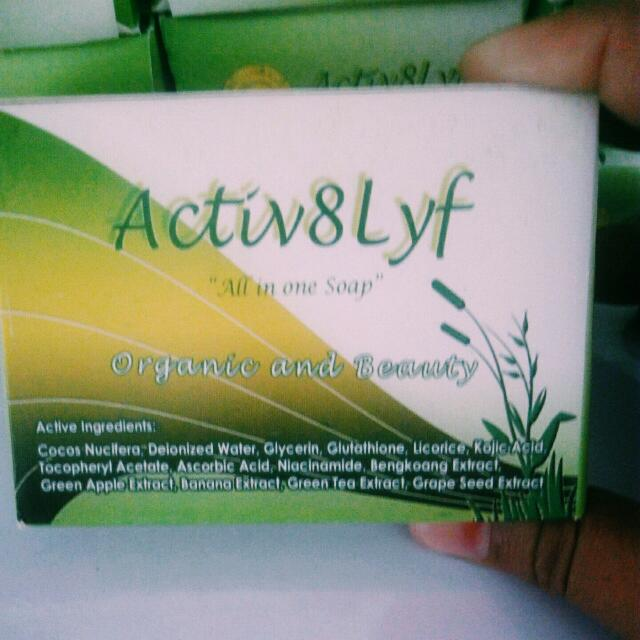 SUPER EFFECTIVE! whitening soap
