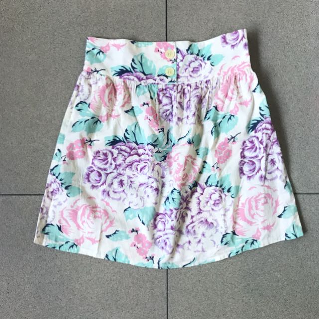 Supre Floral Mini Skirt