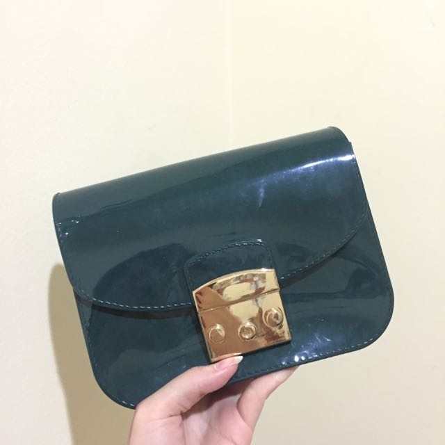 Tas Furla Jelly Green