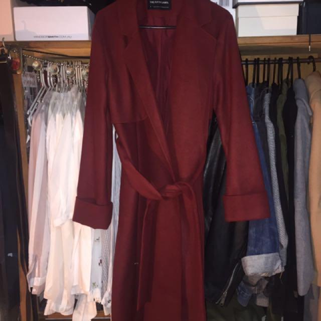 The Fifth Maroon Coat