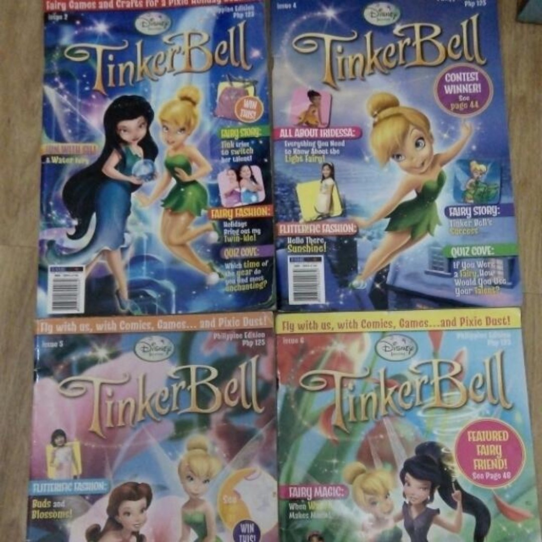 Tinkerbell Magazines