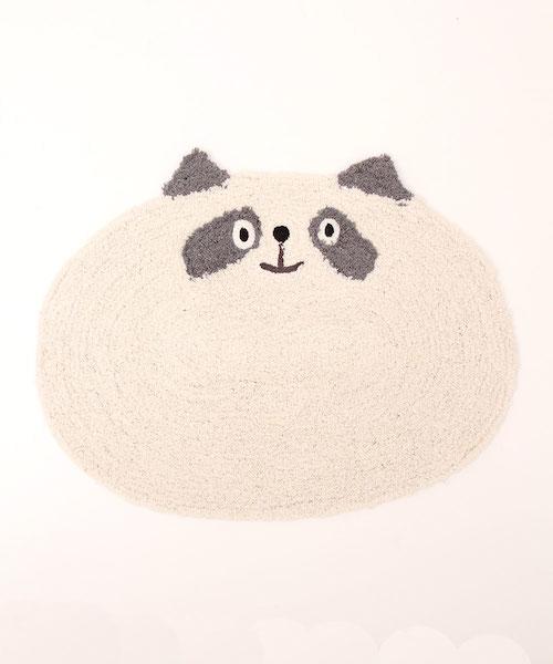 TITICACA橢圓動物腳踏墊 熊貓 兔子 豬 止滑 日本連線到5/23