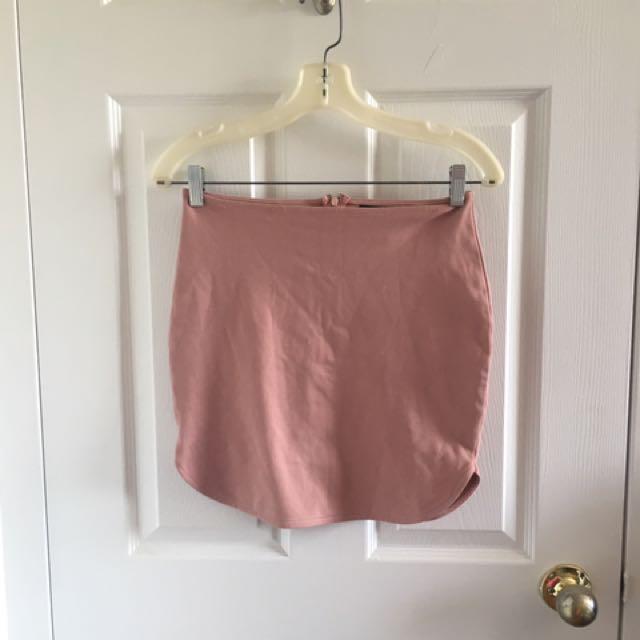 Urban Planet Tight-fit Mini Skirt