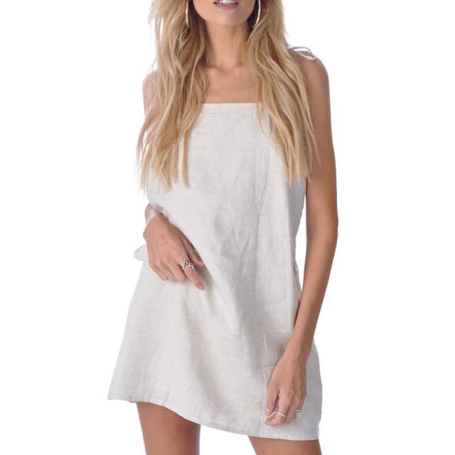 Verge Girl Linen Dress