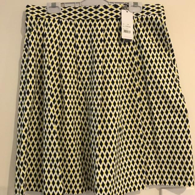 Veronika Maine Harlequin Skirt