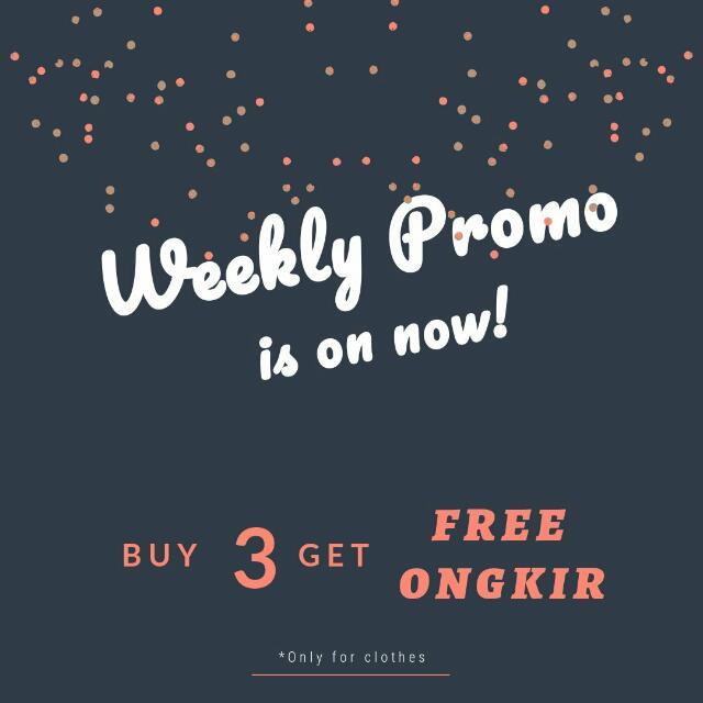 Weekly Promo! Grab It Fast!
