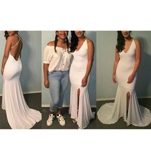 White Ball Dress (RENT)