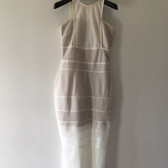 White|closet Cocktail Dress Still With Tag!!