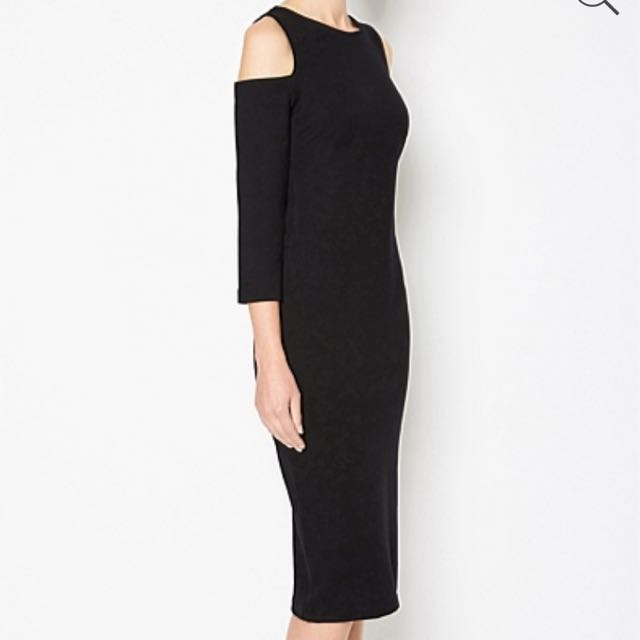 Witchery Cut Out shoulder Dress AW17