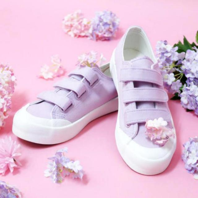 db3bba5b7d285 Worn Once] SPAO Pastel Purple Velcro Covered Shoes, Entertainment, K ...