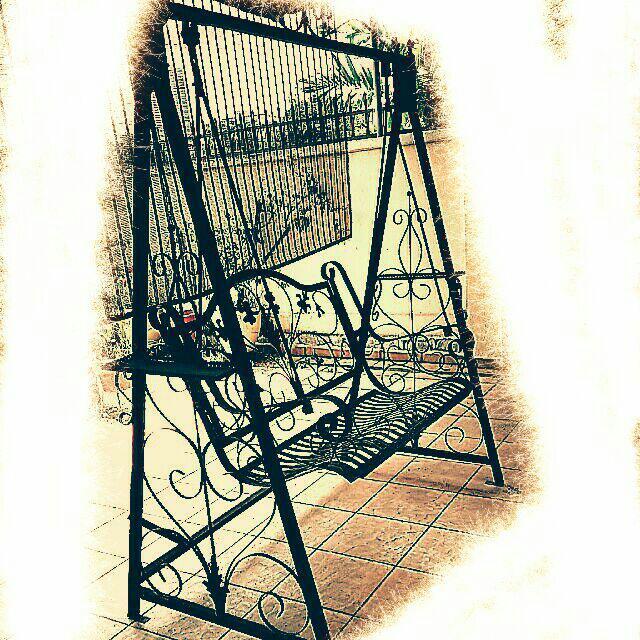 Wrought Iron Big Swing