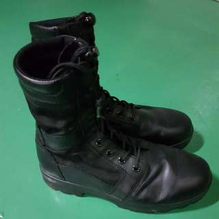 SAF frontier boots, size US 9.0