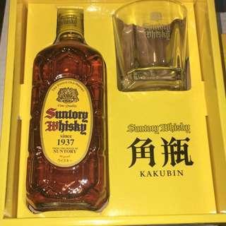 三得利 威士忌 角瓶 Suntory Kakubin Whisky Boxset