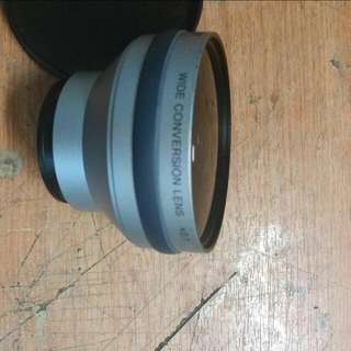 Sony High Grade Wide Angle Conversion  Lens For Sony Compatible Video Cams
