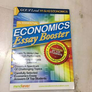 Mindlever Econs Essay Booster