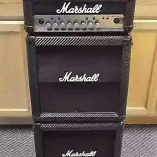 Marshall Micro Stack Carbon Fiber Series 15watts