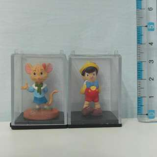 🚚 Yujin 絕版櫥窗扭蛋 小木偶
