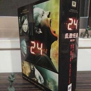 24反恐任務第六季 DVD