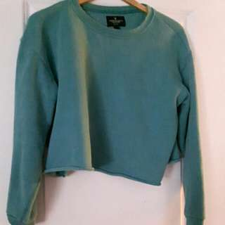 AE Teal Coloured Sweater