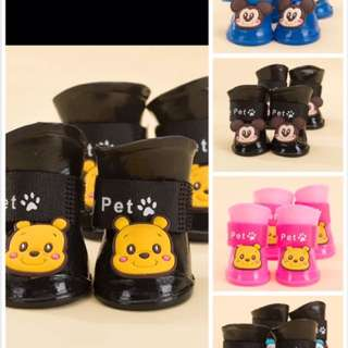 Dogs Rubber Boots For Sales