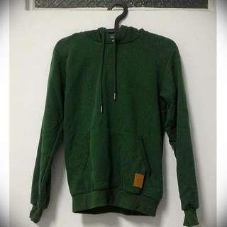 #百元上衣 🆕👕Roush 深綠 帽T