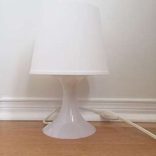 White IKEA Lamp