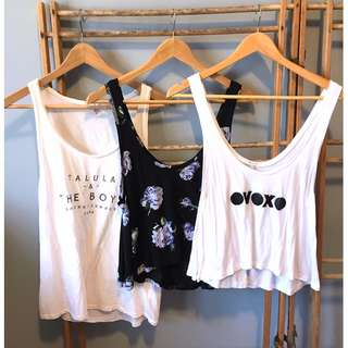 BUNDLE Aritzia TALULA Tanks Tops - Size S
