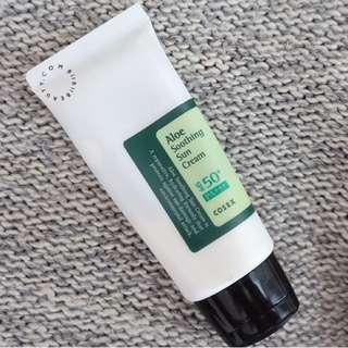 BNIB COSRX Aloe Soothing Sun Cream