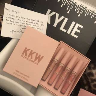 KKW creme Liquid Lipsticks