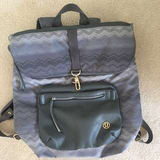 "Lululemon ""kickin' it"" backpack"