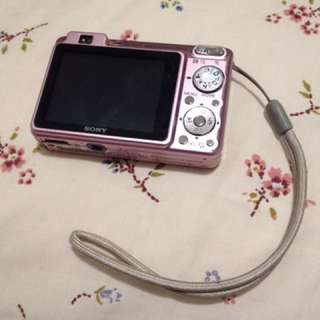 Pink Sony Cyber-shot Camera