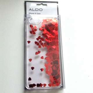 Aldo iPhone 6/6s Liquid Glitter Heart Case