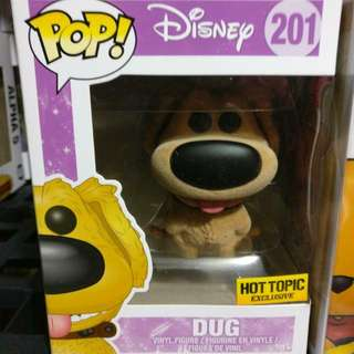 Dug Flocked Funko Pop