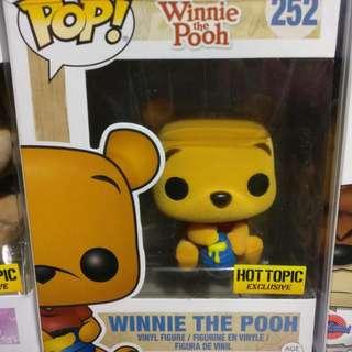 Winnie The Pooh Flocked Funko Pop