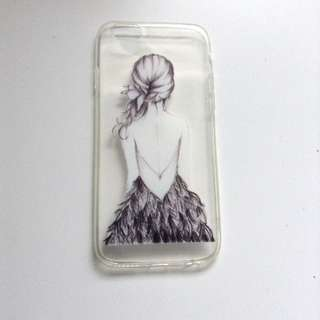 Girl In A Dress iPhone 6/6s Case