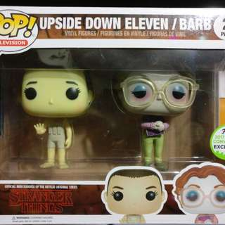 Eleven / Barb ECCC Exclusive 2-Pack Funko Pop