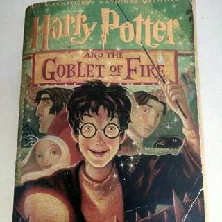Harry Potter And The Goblet Of Fire (Scholastic)
