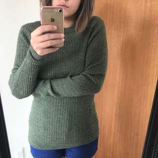 Green Jumper Size M
